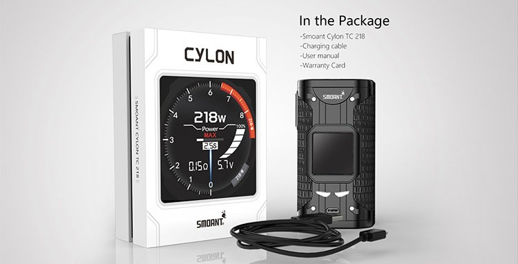 Smoant Cylon TC 218W Box Mod